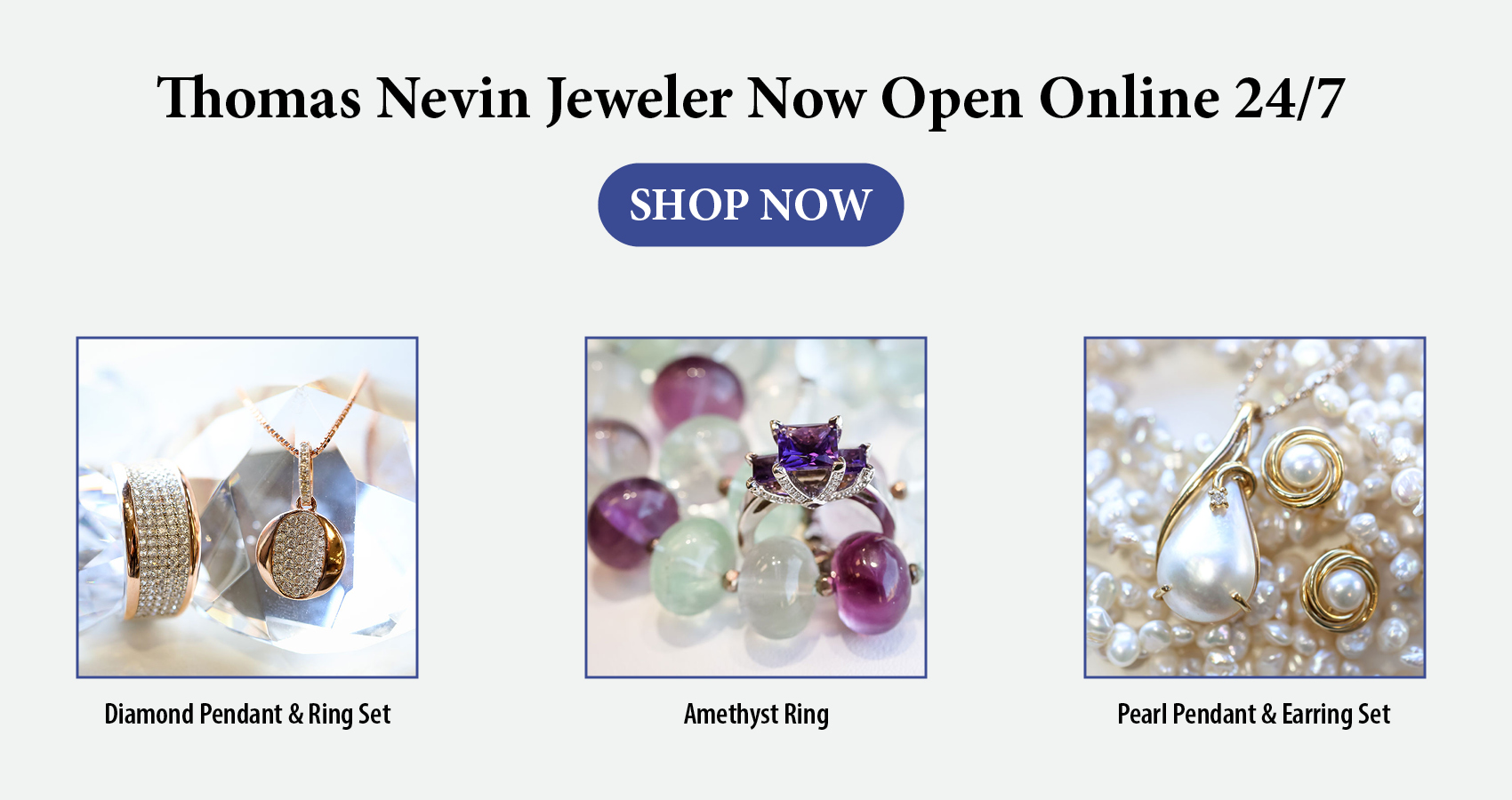 thomas nevin jewelry store banner